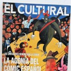 Coleccionismo de Revistas y Periódicos: REVISTA EL CULTURAL, 20-12 MARZO 2000. LA AGONÍA DEL COMIC ESPAÑOL. Lote 171137135