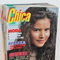 Coleccionismo de Revistas y Periódicos: REVISTA CHICA HOY - LOTE DE 22 REVISTAS. Lote 171138063