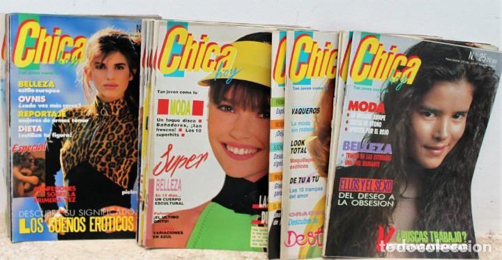 Coleccionismo de Revistas y Periódicos: Revista Chica Hoy - Lote de 22 revistas - Foto 2 - 171138063