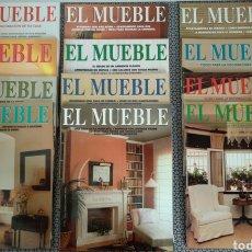 Coleccionismo de Revistas y Periódicos: LOTE 12 REVISTAS EL MUEBLE AÑOS 87/88. Lote 171169710