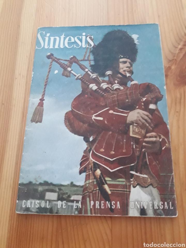 SINTESIS ABRIL 1952 REVISTA CRISOL PRENSA UNIVERSAL (Coleccionismo - Revistas y Periódicos Modernos (a partir de 1.940) - Otros)