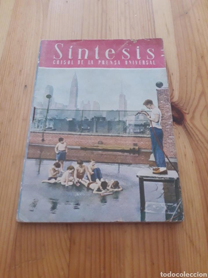 SINTESIS AGOSTO 1951 REVISTA CRISOL PRENSA UNIVERSAL (Coleccionismo - Revistas y Periódicos Modernos (a partir de 1.940) - Otros)