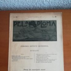 Coleccionismo de Revistas y Periódicos: PEL & PLOMA NÚM. 55 PERIÓDIC ARTÍSTIC QUINZENAL - 1 DE JULIOL DE 1900 - R. CASAS. Lote 171178198