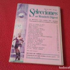 Coleccionismo de Revistas y Periódicos: REVISTA SELECCIONES DEL READER´S DIGEST JUNIO 1970 MUNDIAL DE FÚTBOL MÉXICO 1970 70 PETER USTINOV.... Lote 171296443