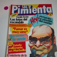 Coleccionismo de Revistas y Periódicos: REVISTA SAL Y PIMIENTA N°50 AÑO II. SEPTIEMBRE 1980.. Lote 171328522