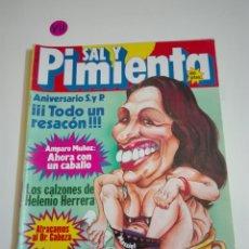 Coleccionismo de Revistas y Periódicos: REVISTA SAL Y PIMIENTA N°107. AÑO III. OCTUBRE 1981.. Lote 182502376