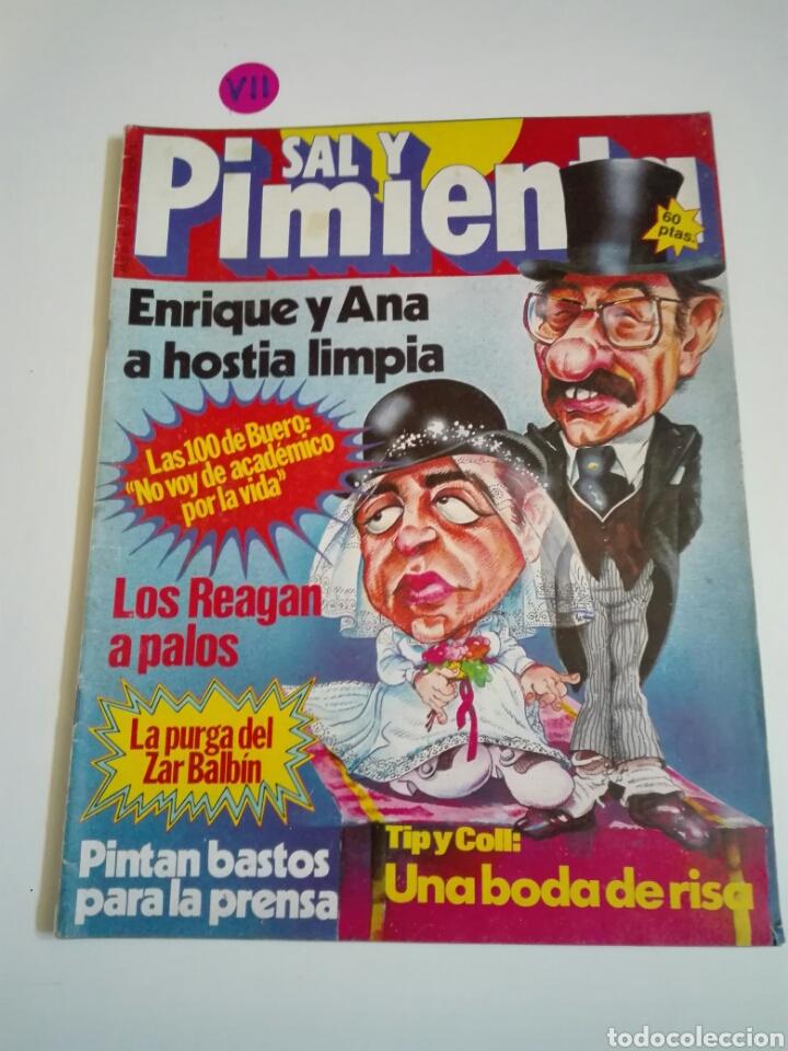 REVISTA SAL Y PIMIENTA N°115. AÑO III. DICIEMBRE 1981. (Coleccionismo - Revistas y Periódicos Modernos (a partir de 1.940) - Otros)