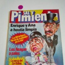Coleccionismo de Revistas y Periódicos: REVISTA SAL Y PIMIENTA N°115. AÑO III. DICIEMBRE 1981.. Lote 171328835