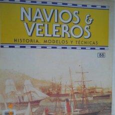Coleccionismo de Revistas y Periódicos: NAVÍOS & VELEROS REVISTA HISTORIA MODELOS TÉCNICAS N° 88 PLANETA DEAGOSTINI. Lote 171345310