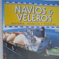 Coleccionismo de Revistas y Periódicos: NAVÍOS & VELEROS REVISTA HISTORIA MODELOS TÉCNICAS N° 85 PLANETA DEAGOSTINI. Lote 171345793
