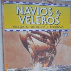 Coleccionismo de Revistas y Periódicos: NAVÍOS & VELEROS REVISTA HISTORIA MODELOS TÉCNICAS N° 80 PLANETA DEAGOSTINI. Lote 171346695