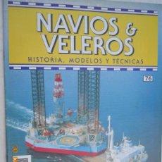 Coleccionismo de Revistas y Periódicos: NAVÍOS & VELEROS REVISTA HISTORIA MODELOS TÉCNICAS N° 76 PLANETA DEAGOSTINI . Lote 171347262