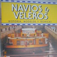 Coleccionismo de Revistas y Periódicos: NAVÍOS & VELEROS REVISTA HISTORIA MODELOS TÉCNICAS N° 50 PLANETA DEAGOSTINI. Lote 171350132
