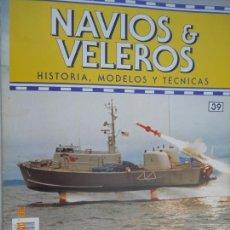 Coleccionismo de Revistas y Periódicos: NAVÍOS & VELEROS REVISTA HISTORIA MODELOS TÉCNICAS N° 39 PLANETA DEAGOSTINI. Lote 171351567