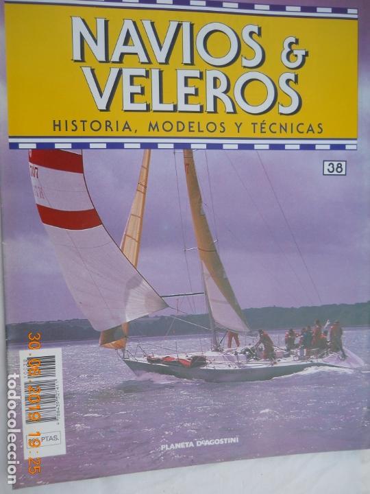 NAVÍOS & VELEROS REVISTA HISTORIA MODELOS TÉCNICAS N° 38 PLANETA DEAGOSTINI (Coleccionismo - Revistas y Periódicos Modernos (a partir de 1.940) - Otros)