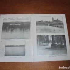 Coleccionismo de Revistas y Periódicos: RETAL 1909: INUNDACIONES SALAMANCA. ZURGUEN. VALLADOLID. BUQUES GUERRA DE MELILLA. EL RIF. Lote 171363940