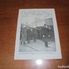 Coleccionismo de Revistas y Periódicos: RETAL 1909: NUEVO REY DE BÉLGICA ALBERTO I. ESTRENO DE EL CENTENARIO DE LOS HNOS. ÁLVAREZ QUINTERO. Lote 171364305
