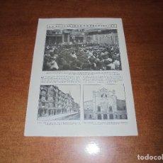 Coleccionismo de Revistas y Periódicos: RETAL 1909: BARCELONA. CASTRO URDIALES. PALMA DE MALLORCA. MANRESA. MINISTRO DE CUBA. GAONA.. Lote 171366247