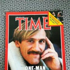 Coleccionismo de Revistas y Periódicos: REVISTA TIME 1984, GERRARD DEPARDIEU. Lote 171368602
