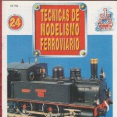 Coleccionismo de Revistas y Periódicos: TECNICAS DE MODELISMO FERROVIARIO N. 24.. Lote 171386448