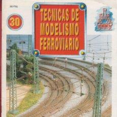 Coleccionismo de Revistas y Periódicos: TECNICAS DE MODELISMO FERROVIARIO N. 30 RE30.. Lote 171387313