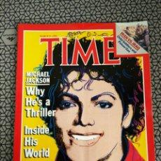 Coleccionismo de Revistas y Periódicos: REVISTA TIME 1984, MICHAEL JACKSON. Lote 171422458