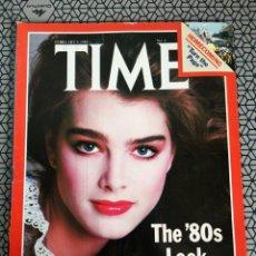Coleccionismo de Revistas y Periódicos: REVISTA TIME 1981, BROOKE SHIELDS. Lote 171423414