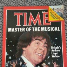 Coleccionismo de Revistas y Periódicos: REVISTA TIME 1984, LLOYD WEBBER. Lote 171423772