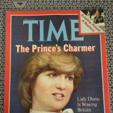 Coleccionismo de Revistas y Periódicos: REVISTA TIME 1981, LADY DIANA. Lote 171424094