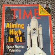 Coleccionismo de Revistas y Periódicos: REVISTA TIME 1981, LANZADERA ESPACIAL COLUMBIA. Lote 171424660