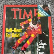 Coleccionismo de Revistas y Periódicos: REVISTA TIME 1988, HELL BENT. Lote 171424960