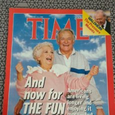 Coleccionismo de Revistas y Periódicos: REVISTA TIME 1988, Y AHORA A DISFRUTAR.. Lote 171425555