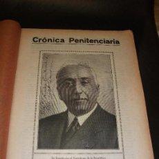 Coleccionismo de Revistas y Periódicos: 1934 REVISTA CRÓNICA PENITENCIARIA MADRID CON RETRATO FIRMA NICETO ALCALA ZAMORA - CARCEL POLICIA. Lote 171434103