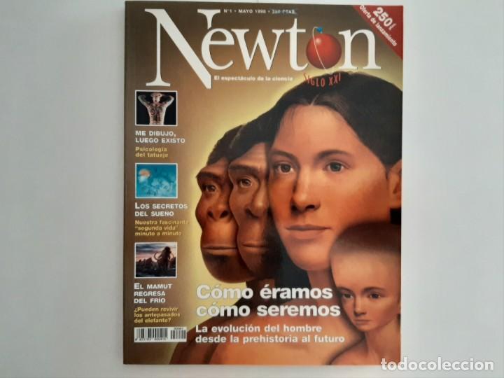 EJEMPLAR REVISTA NEWTON NUMERO 1 MAYO 1998 (Coleccionismo - Revistas y Periódicos Modernos (a partir de 1.940) - Otros)