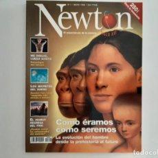 Coleccionismo de Revistas y Periódicos: EJEMPLAR REVISTA NEWTON NUMERO 1 MAYO 1998. Lote 171447594