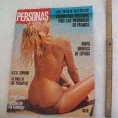 Coleccionismo de Revistas y Periódicos: REVISTA PERSONAS NUM Nº 102. 19-10-1975. CATHY CURTH , EMMANUELLE ARSAN , R.C.D. ESPAÑOL. MADELEINE. Lote 171461992