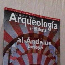 Coleccionismo de Revistas y Periódicos: REVISTA HISTORIA DESPERTA FERRO ARQUEOLOGIA AL ANDALUS OMEYA. Lote 171463625