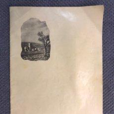 Coleccionismo de Revistas y Periódicos: VALLADA (VALENCIA) PROGRAMA DE FIESTAS EN HONOR DE SAN BARTOLOMÉ, VIRGEN DE GRACIA... (A.1956). Lote 171466114
