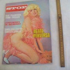 Coleccionismo de Revistas y Periódicos: REVISTA STOP Nº 10 AGATA LYS,ROSA VALENTY,CARMEN SEVILLA,LONE FLEMING,MARI PAZ PONDAL,MARINA FERRI. Lote 171470460
