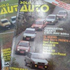 Coleccionismo de Revistas y Periódicos: REVISTAS ANTIGUAS SOLO AUTO. Lote 171478032