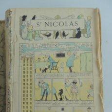 Coleccionismo de Revistas y Periódicos: ENCUADERNADO CON ANTIGUAS REVISTAS SAN NICOLAS AÑO 1907. Lote 171486550
