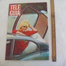 Coleccionismo de Revistas y Periódicos: TELE GUIA Nº 48, 1965, MYLENE DEMONGEOT, TONY LEBLANC, CAFFAREL, CASILDA VARELA, ELVIRA QUINTILLA. Lote 171502553