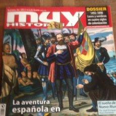 Coleccionismo de Revistas y Periódicos: REVISTA MUY HISTORIA Nº 34 LA AVENTURA ESPAÑOLA EN AMERICA. Lote 171518765
