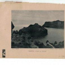 Coleccionismo de Revistas y Periódicos: CABO DE CREUS 1900 FOTOTIPIA HOJA REVISTA. Lote 171581085