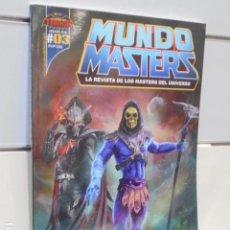 Coleccionismo de Revistas y Periódicos: MUNDO MASTERS Nº 3 VERANO 2019 LA REVISTA DE LOS MASTERS DEL UNIVERSO. Lote 171587734