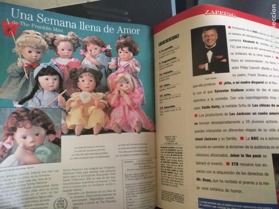 Coleccionismo de Revistas y Periódicos: tp tele pais telepais 1992 revista suplemento portada julio iglesias contraportada publicidad muñeca - Foto 2 - 171623125
