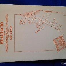Coleccionismo de Revistas y Periódicos: EXALTACIO FALLERA MAJOR INFANTIL DE VALENCIA 1986. Lote 171638938