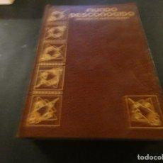 Coleccionismo de Revistas y Periódicos: TOMO DE LA REVISTA MUNDO DESCONOCIDO II NUMEROS 7 AL 13 EN TAPA AÑO 1980 APROX. Lote 171657747