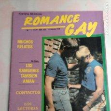 Coleccionismo de Revistas y Periódicos: ROMANCE GAY Nº 1 - REVISTA GAY AÑOS 90. Lote 171686714