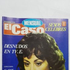 Coleccionismo de Revistas y Periódicos: REVISTA MENSUAL EL CASO, NOVIEMBRE 1978, DESNUDOS EN TV.E.. Lote 171689739